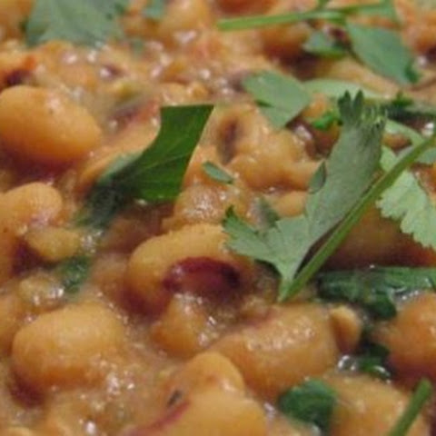 Indian Black-Eyed Pea Masala