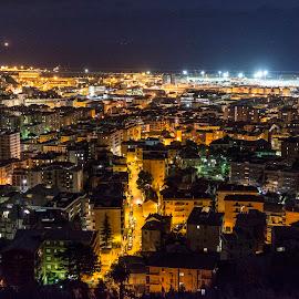 by Alessandro Scacchetti - City,  Street & Park  Street Scenes