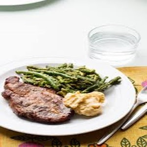 Cara Memasak Chops With Green Beans and Avocado For PC