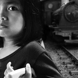 Leaving by Erwin Rizaldi - Babies & Children Child Portraits