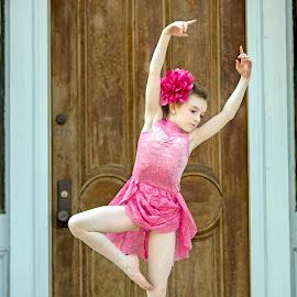 Little Dancer by Sylvester Fourroux - Babies & Children Child Portraits