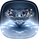 Diamond Live Wallpaper ? Glitter Backgrounds Icon