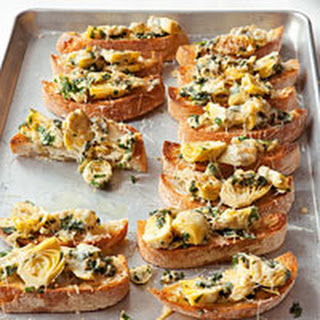 Artichoke Parmesan Bruschetta Recipes