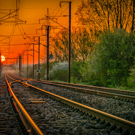 by Dragan Rakocevic - Transportation Railway Tracks (  )