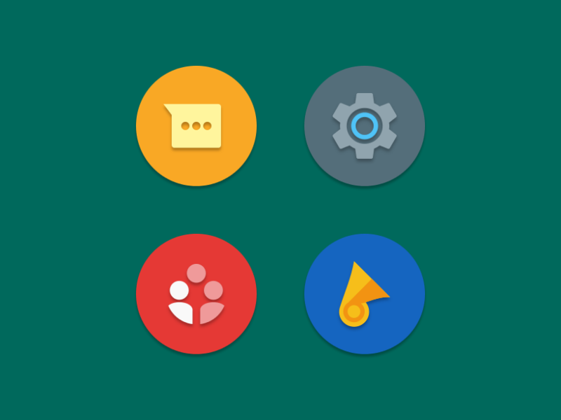 NAXOS FLAT ROUND - ICON PACK Screenshot 4