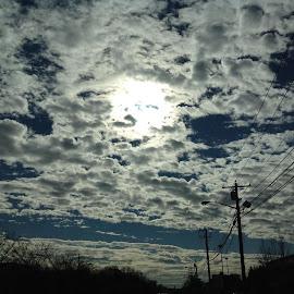 Beautiful sky by Linda Tribuli - Novices Only Landscapes