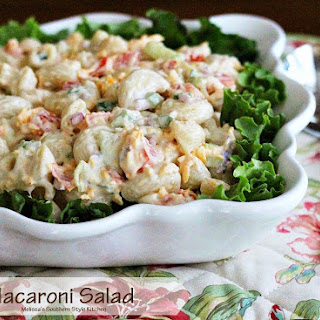 Macaroni Salad Cucumber Tomato Recipes