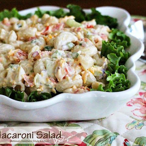 10 Best Macaroni Salad Cucumber Tomato Recipes | Yummly