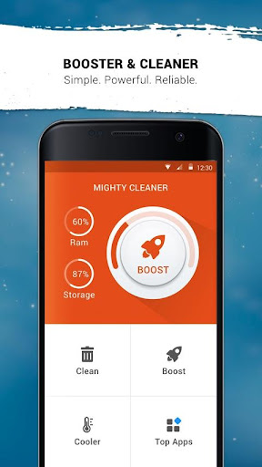 Mighty Cleaner - Boost Android For PC