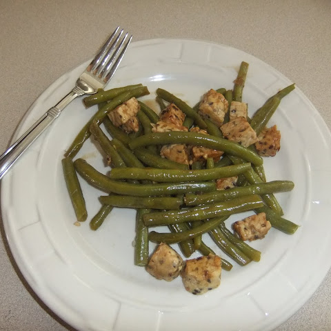 Hoisin-glazed Tempeh And Green Beans
