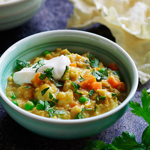 Red Lentil, Pumpkin and Coconut Dhal