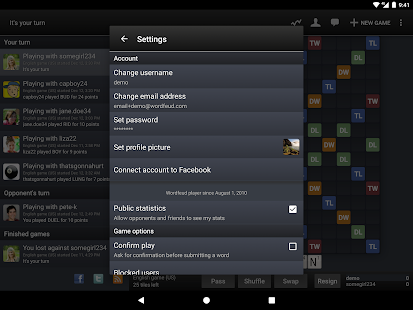 Wordfeud FREE APK for Blackberry