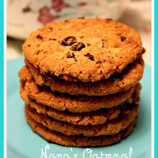 Nana's Oatmeal Raisin Cookies!