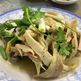 Salted Chicken - Vietnamese Style by Beh Heng Long - Food & Drink Plated Food ( vietnamese food )