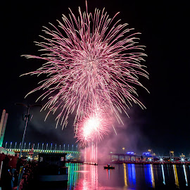 Dhoom by Madhujith Venkatakrishna - Abstract Fire & Fireworks