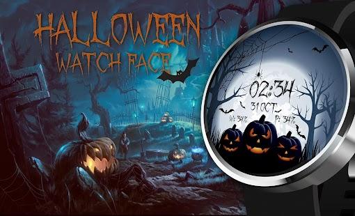Halloween Spooky Watch Face