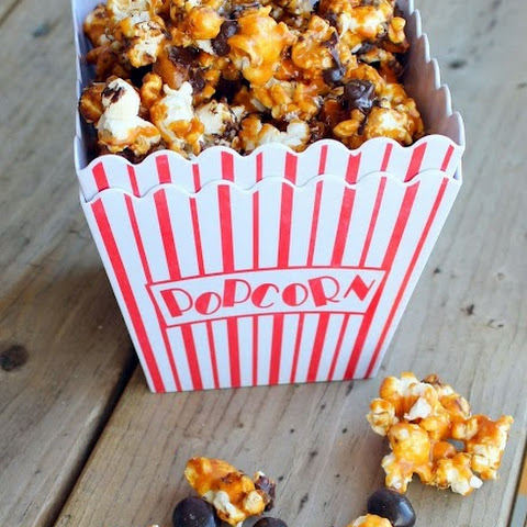 Kahlua and Espresso Bean Caramel Corn