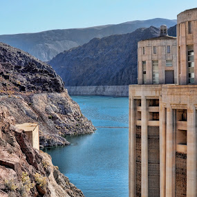 Hoover Dam by Starla Sims - Travel Locations Landmarks ( hoover dam )