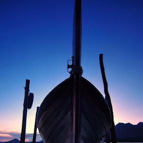 anchor by Assoka Andrya - Transportation Boats