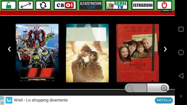 Cineflix APK screenshot thumbnail 1