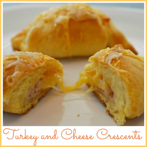 Turkey and Cheese Stuffed Crescents