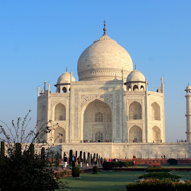 And The Wonderlust Continues.............. by Soutik Halder - Buildings & Architecture Statues & Monuments ( love, taj mahal, agra, architecture, mogul )