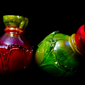 Glass & Colour by Chiradeep Mukhopadhyay - Artistic Objects Antiques ( hdr, nikon, d5100 )