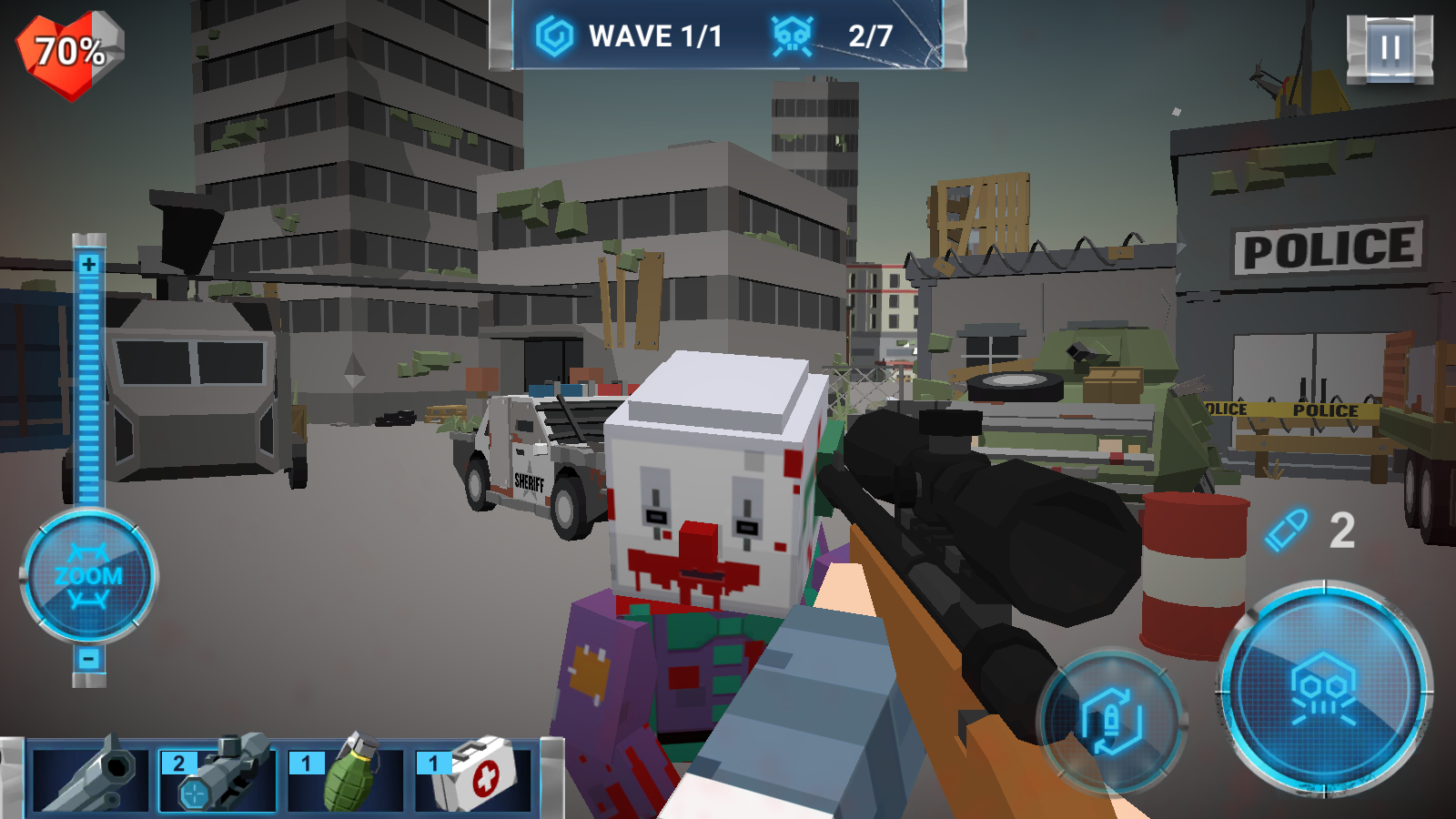 The walking zombie: Dead city Screenshot 5