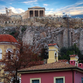 Parthenon by Costa Philippou - City,  Street & Park  Historic Districts ( parthenon, greece, athens, cityscape )
