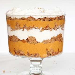 Pumpkin Butterscotch Spice Cake Trifle