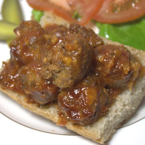 Spicy BBQ Cheddar Ranch Meatballs