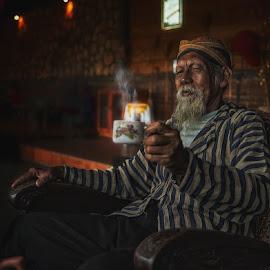 Let's drink by Indrawan Ekomurtomo - People Portraits of Men