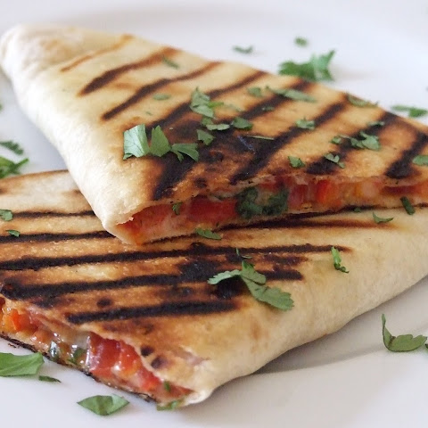 Vegetarian Quesadillas with Cheese