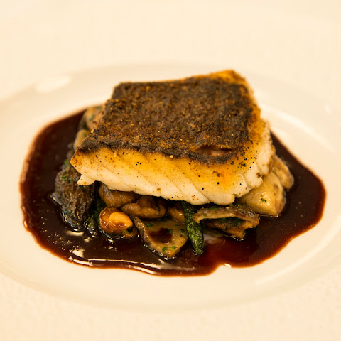 Eric Ripert's Red Snapper and Morels in Port Reduction