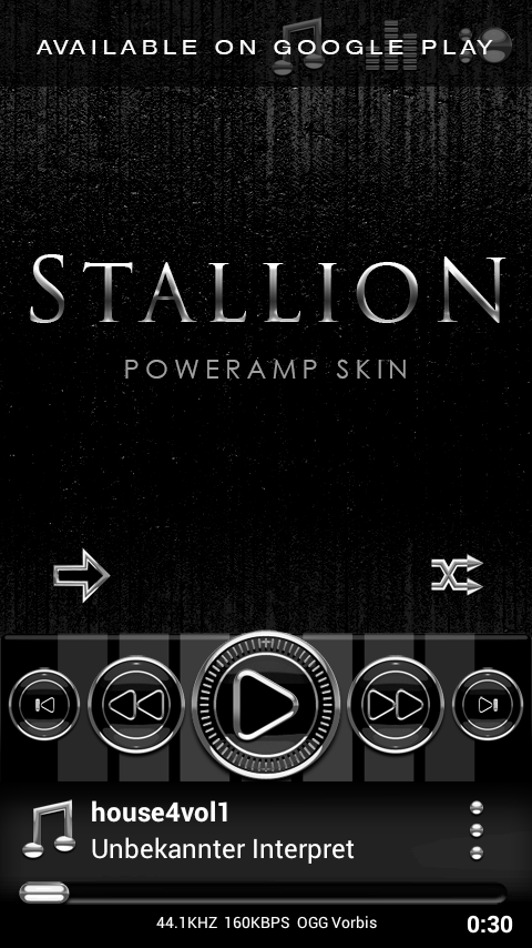 STALLION Next Launcher Theme Screenshot 6