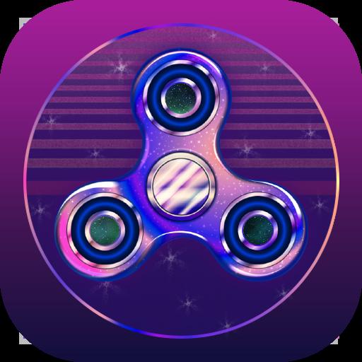 피젯 스피너 - Fidget Spinner with galaxy (game)