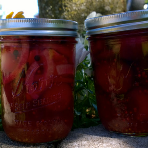 Canned Spiced Pickled Beets
