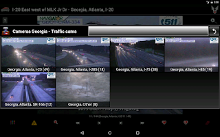Screenshot of Atlanta and Georgia Cameras