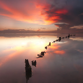 Remains of yesterday by Ledon Jasper Samoranos - Landscapes Waterscapes