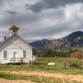 The Old Schoolhouse by James Grady - Buildings & Architecture Public & Historical ( school, colorado, mountain scenery, mountain towns )