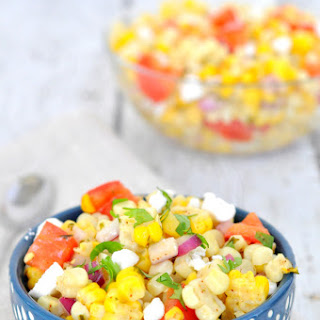 Grilled Corn And Tomato And Red Onion Salad Recipes