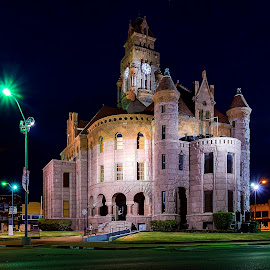 Wise County Courthouse in Decatur, Texas by Trent Eades - Buildings & Architecture Public & Historical ( wise county courthouse, texas, decatur, spanish architecture )