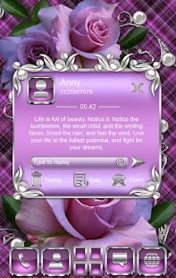 How to download Tender Roses Go SMS Pro theme 3 unlimited apk for bluestacks