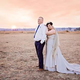 by Madeleine Rademan - Wedding Bride & Groom