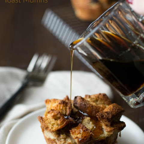 Gluten Free French Toast Muffins