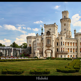 Hluboká by Vlastimil Jiřinec - Buildings & Architecture Public & Historical ( building, castel, historical, castels, garden )