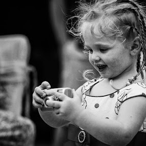 I can do better than you by Rah Juan - Babies & Children Children Candids ( black and white, portrait, kid, , b&w, child )