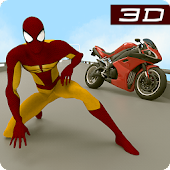 Game 3D Hero Super Spider Rider - Moto City Fighter APK for Windows Phone