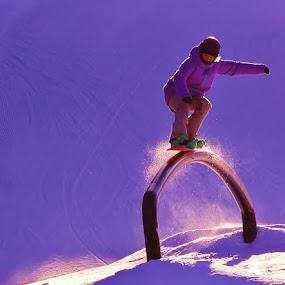 Snowboarder by Simon Lambert - Sports & Fitness Snow Sports