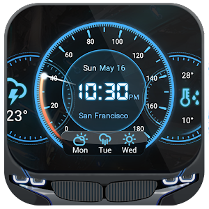 3 Day Clock Forecast Widget